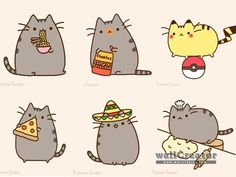 pusheen and sloth - Google Search