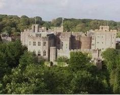 St. Donats Castle in Wales.  My ancestors owned this for a time.My ancester was Sir Edward Stradling 1398-1453.