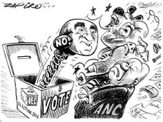 Zapiro: Ronnie Kasrils and the 2014 elections  - Mail & Guardian