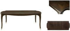"""Miramont Collection 360-222 Dining Table 78 1/4"""" x 48 1/8"""" x 30"""""""