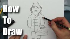 How To Draw - Paddington Bear Ours Paddington, Aunt, Drawings, Books, Movies, Little Things, Draw, Quotes, Libros