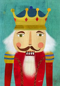 nutcracker king | by mm illustration