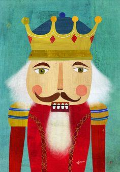 nutcracker king | by mm illustration