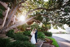 Grove Isle Hotel wedding in Miami, South Florida / photo by Soul Echo Studios, Flowers by Nerys Flowers