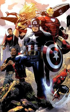 Captain America & Avengers by Jim Cheung