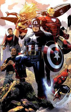 Avengers - Jim Cheung.