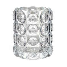 IKEA - FLEST, Świecznik na tealighty, Przezroczyste szkło odbija i wzmacnia ciepły blask płomienia świecy.