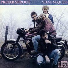 """La #Bonneville negli anni '80 sulla copertina di """"Steve McQueen"""" dei Prefab Sprout."""