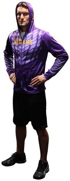 Stay warm and look cool with fully sublimated hoodies that you can design to match your favorite teams and uniforms
