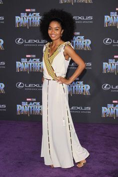 afbb45bbdf4a6c Stars shine at the  Black Panther  world premiere