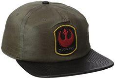 e9149558f76 Bioworld Men s Star Wars Rogue Distressed Rebel Snapback Snapback Cap