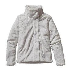 Patagonia Womens Pelage Fleece Jacket. Birch White