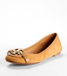 Suede Brown Flats (Tory Burch) $235