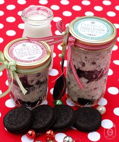 Oreo cookies and cream spread