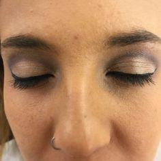 Cuenca en tonos grises #makeup