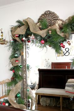 rusty hinge: It's Beginning to Look a Lot Like Christmas!; just yearning to do the vintage look this Xmas