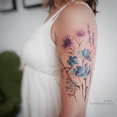 """537 Likes, 16 Comments - G.NO (@gnotattoo) on Instagram: """"#lavender"""""""