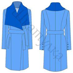 (+1) Элегантное женское демисезонное пальто (шитье)