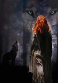 She took the loyal, protective, possessive natures of the wolf and took the intelligence, emotions, and love of the human and brought them together.