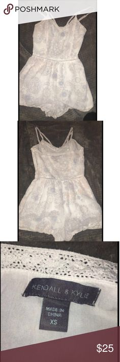 kendall and kylie romper with super on side zipper on side , never been worn Kendall & Kylie Other