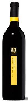 Bin 36-The 2007 Merlot is going to create a lot of buzz. It is the absolutely the silkiest wine I've ever made, and possibly the most elegant. The aromas of mocha-scented crushed black raspberries and black cherries are prominent. The flavors are long in the mouth with impressive hang time. The components are seamlessly interwoven without sacrificing complexity. There is a subtle underlying minerality provided by the Petit Verdot.