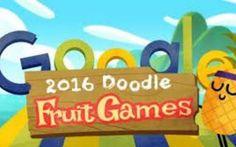 google lancia fruit games per olimpiadi rio 2016 google ha deciso di lanciare per le olimpiadi di rio 2016, l'applicazione fruit games. Le Olimpiadi di Rio de Janiero 2016 contagiano anche Google. Stanotte, si apriranno le Olimpiadi di Rio de Janei #fruitgames #olimpiadi #rio #google