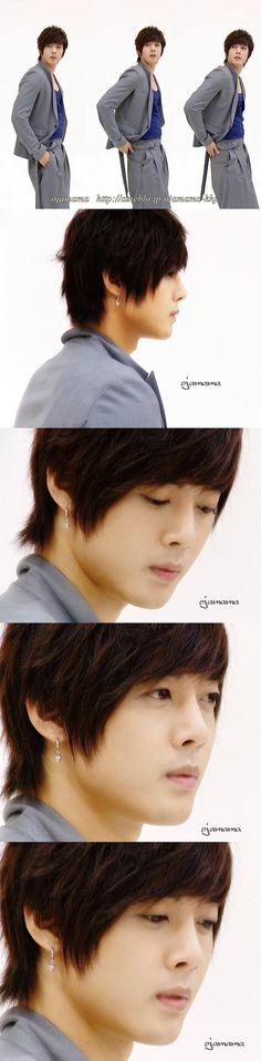 Kim Hyun Joong (saw this in Merci喵's weibo, original credit on logo)