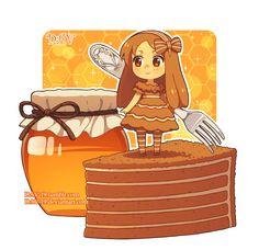 Honey Cake by DAV-19 on DeviantArt