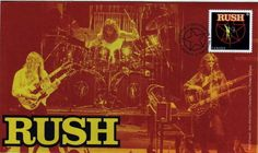 My Rush first day cover is in!
