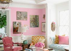 """benjamin moore """"pink begonia"""" - House Beautiful"""