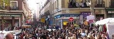El Rastro ~ Europe's largest outdoor market held every Sunday in Madrid.  You must see it to believe it.