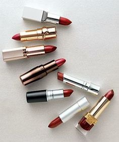 Easy tips for wearing red lipstick.