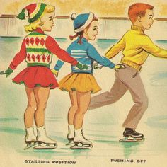 Little Skater - a Rand McNally Elf book, written by Dianne Sherman, illustrated by Dorothy Grider, 1959