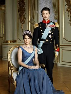 The Crown Prince Couple of Denmark. Crown Prince Frederik & Crown Princess Mary