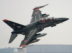 "Russian Yakolev Yak130 ""Mitten"" ground attack/advanced trainer."