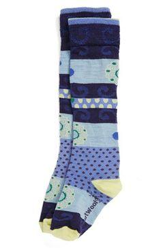 SmartWool 'Tap Dot' Knee Socks (Toddler Girls, Little Girls & Big Girls) available at #Nordstrom