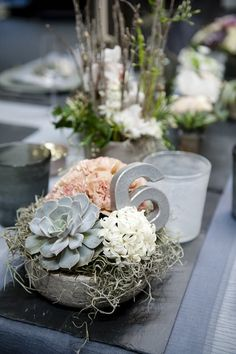 wedding centerpiece idea; photo: FO Photography