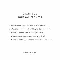 Gratitude Journal Prompts, Journal 3, Bullet Journal, Make You Smile, Are You Happy, Morning Pages, Self Care Activities, Self Healing, Writing Inspiration