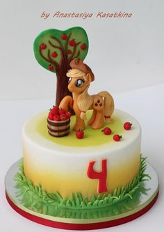 My Little Pony  cake (Applejack)