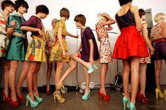 scarpe con i tacchi alti