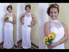 Vestido de Noiva - Modelagem e Costura - ESPECIAL MÊS DAS NOIVAS - YouTube