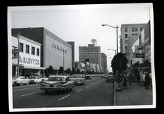 1965 original photo downtown street view PINE street LONG BEACH California