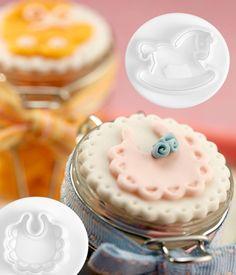 DOUGH CUTTER BIRTH 3D Dough Cutter, Cookie Dough, Panna Cotta, Birth, Cookies, 3d, Ethnic Recipes, Desserts, Biscuits