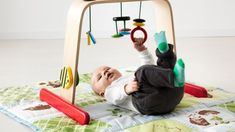 IKEA Leka - grasping for toys in baby gym Best Baby Play Mat, Ikea Toys, Ikea Baby, Getting Ready For Baby, Cool Gifts For Kids, Baby Gym, Baby Development, Parent Gifts, Home Gifts