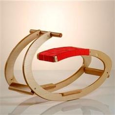 New style rocking horse for kids that is a cool design!