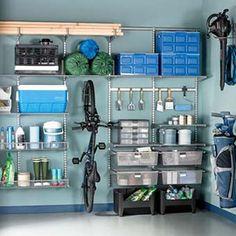 варианты хранения для гаража