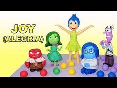 How to make Joy with gum paste / Cómo hacer a Alegría con pasta de goma