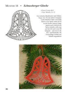 Crochet Snowflake Pattern, Crochet Snowflakes, Bobbin Lace Patterns, Crochet Patterns, Romanian Lace, Lace Art, Lacemaking, Lace Jewelry, Christmas Bells
