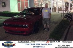 https://flic.kr/p/H818Rh | Happy Anniversary to Adam on your #Dodge #Challenger from David Jones at Huffines Chrysler Jeep Dodge Ram Lewisville! | deliverymaxx.com/DealerReviews.aspx?DealerCode=XMLJ