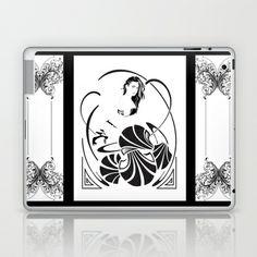Simple Elegance. Laptop & iPad Skin by David Lee Graphic Artist - $25.00